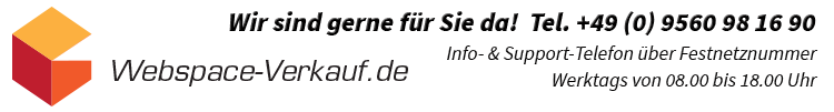 Webspace-Verkauf.de ist gerne für Sie da!